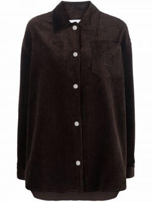 Klasyczna koszula - brązowa Remain