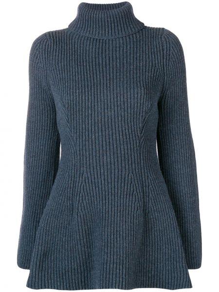 Синий шерстяной свитер Nehera