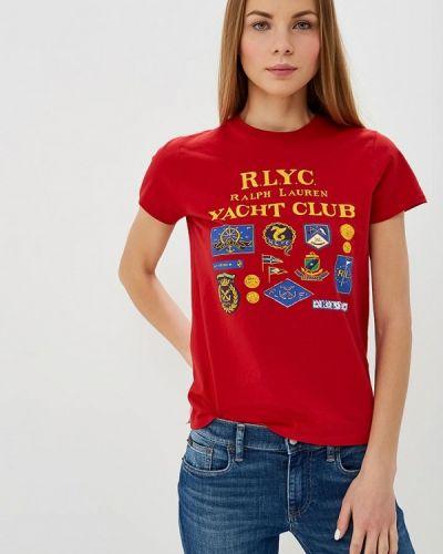 Красная футболка 2019 Polo Ralph Lauren