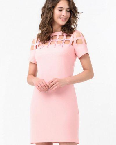 Платье весеннее розовое Ricamare