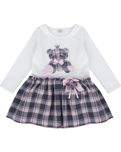Платье хлопковое розовый Fun Time