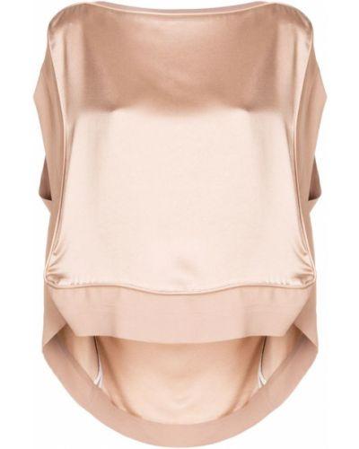 Бежевая блузка Vivienne Westwood