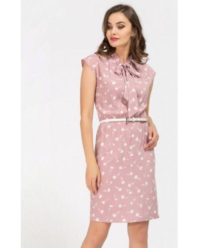 Повседневное платье розовое Remix