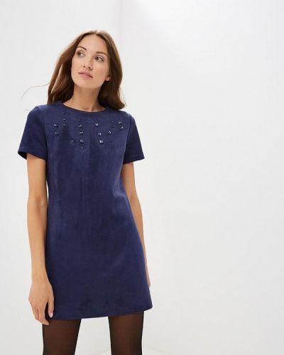 Синее платье прямое Love Republic