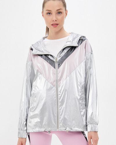 Серебряная демисезонная куртка Softy