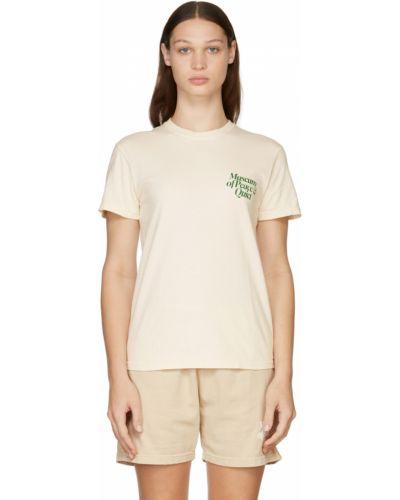 Beżowa t-shirt bawełniana Museum Of Peace And Quiet