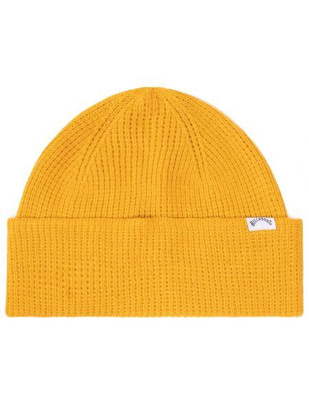 Żółta złota czapka Billabong