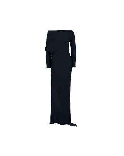 Вечернее платье с высоким разрезом шелковое Roberto Cavalli