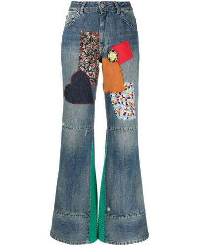 Mom jeans - niebieskie Victoria Beckham
