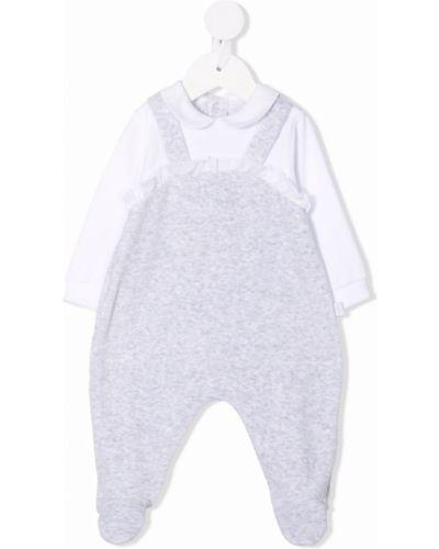 Biała piżama bawełniana Il Gufo