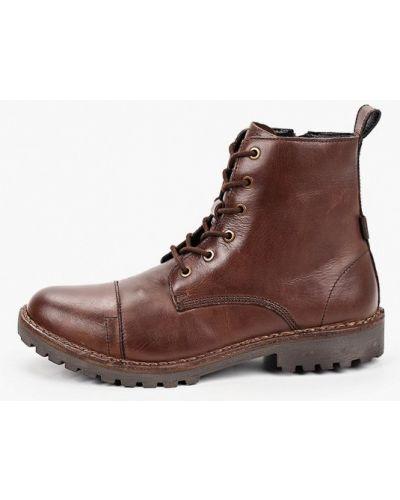 Коричневые кожаные ботинки Levi's®