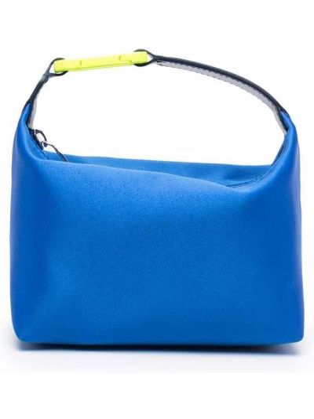 Niebieska torebka skórzana Eera