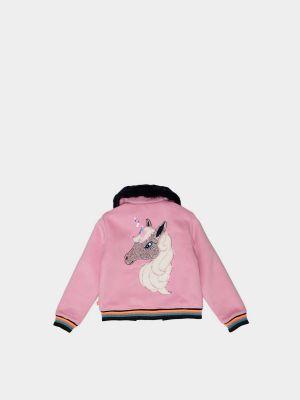 Облегченная куртка - розовая Billieblush