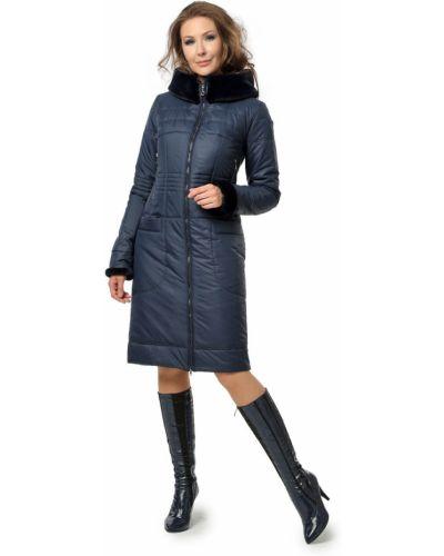 Длинное пальто с капюшоном на молнии из искусственного меха Dizzyway