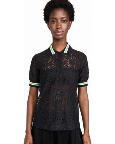 Хлопковая рубашка - черная No. 21
