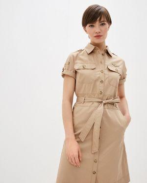 Платье - бежевое Aeronautica Militare