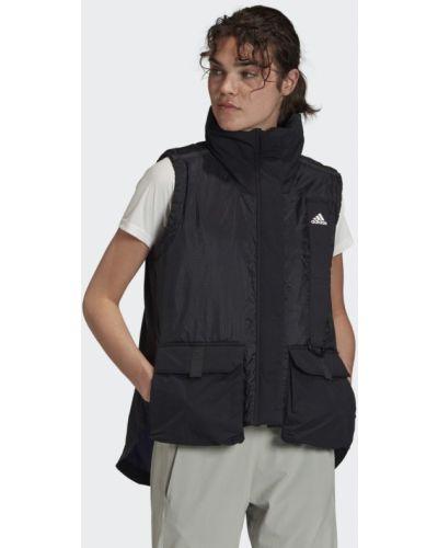 Черная жилетка для офиса Adidas