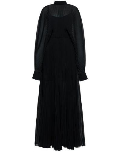 Sukienka wieczorowa, czarny Patrizia Pepe