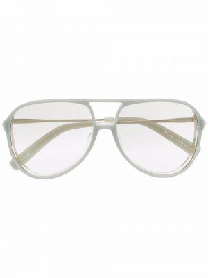 Złote niebieskie okulary Christian Roth