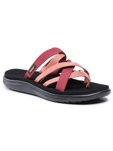 Różowe sandały japonki Teva