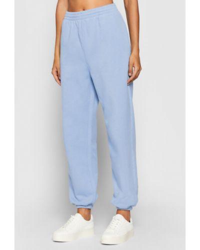 Niebieskie spodnie dresowe Kontatto