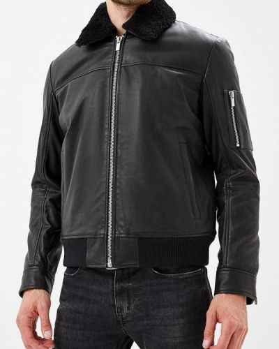 4b8db12e Купить мужские кожаные куртки Hugo Hugo Boss в интернет-магазине ...