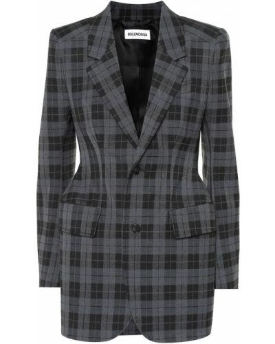 Классический пиджак шерстяной Balenciaga