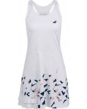 Приталенное спортивное теннисное платье для полных Babolat