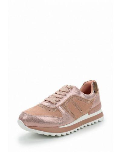 Розовые кроссовки замшевые Vivian Royal