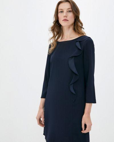 Повседневное синее платье Pennyblack