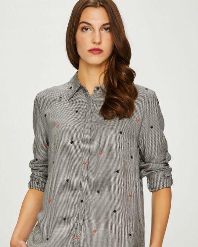 Блузка с длинным рукавом из вискозы оверсайз Pepe Jeans