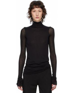 Рубашка с длинным рукавом в полоску под запонки Rick Owens Lilies