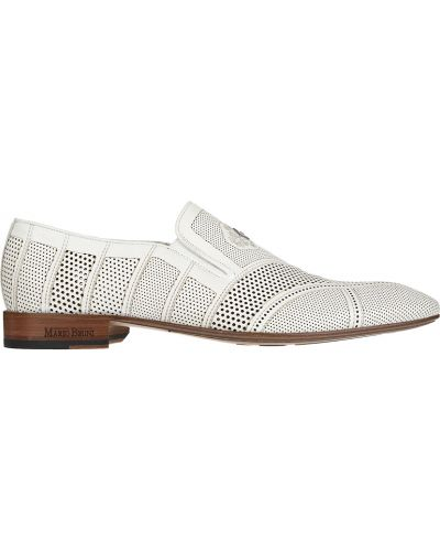 Кожаные туфли - белые Mario Bruni