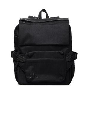 Czarny plecak skórzany Beis