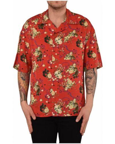 Koszula z wiskozy na co dzień zapinane na guziki Ih Nom Uh Nit