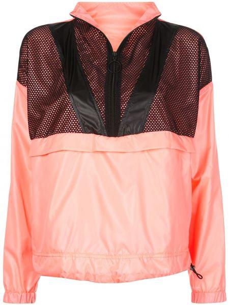 Черная спортивная куртка с воротником с манжетами Koral