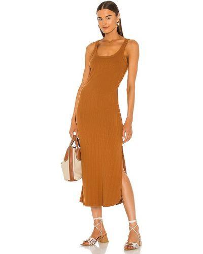 Платье из штапеля - оранжевое Vitamin A