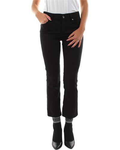 Czarne spodnie eleganckie Liu Jo