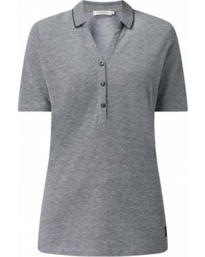T-shirt bawełniana - niebieska Maerz Muenchen