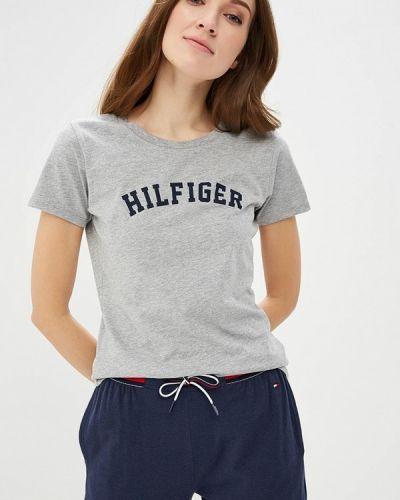 Футболка серая Tommy Hilfiger
