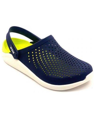 Спортивные сабо - синие Crocs