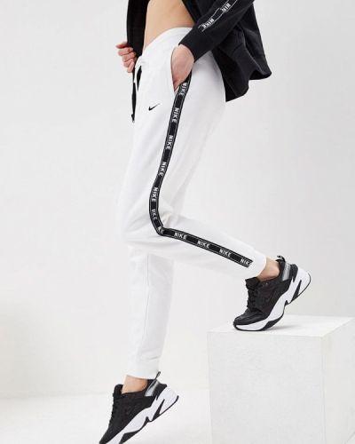 Спортивные брюки весенний белый Nike