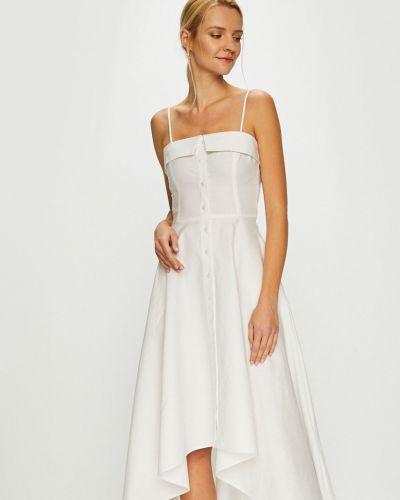 Платье миди однотонное расклешенное Miss Sixty