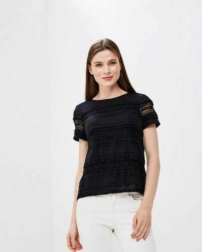Черная кружевная блузка Iwie