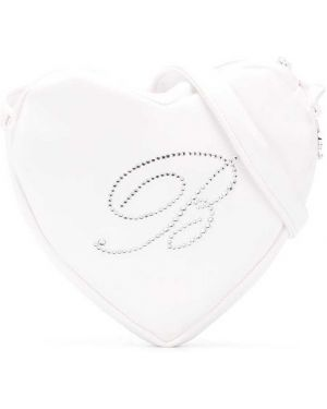 Белая сумка на плечо Miss Blumarine