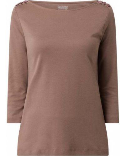 Beżowa bluzka bawełniana Christian Berg Women