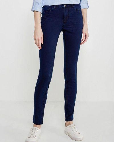 Синие прямые джинсы Tom Tailor