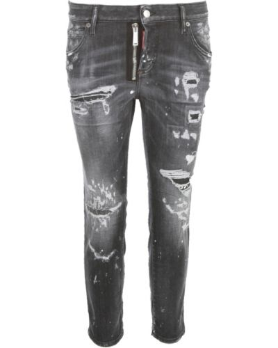 Szare mom jeans Dsquared2
