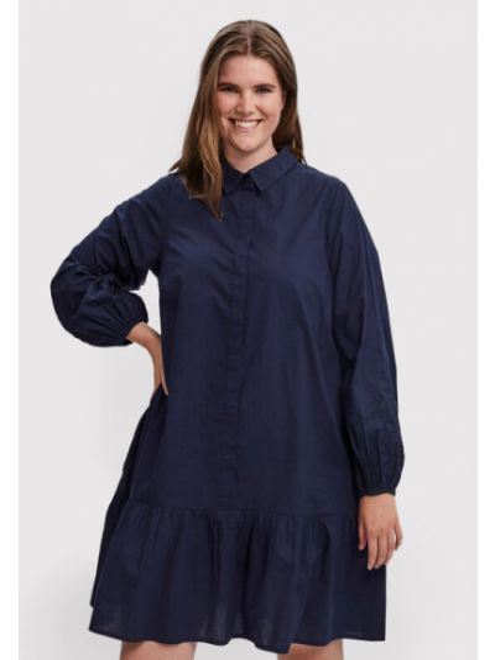 Sukienka granatowa Vero Moda Curve