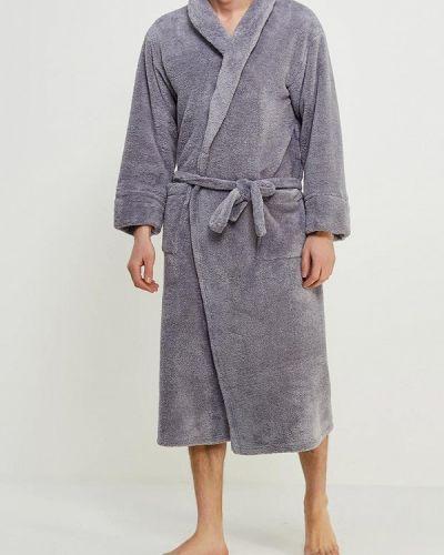 Серый халат Cleo